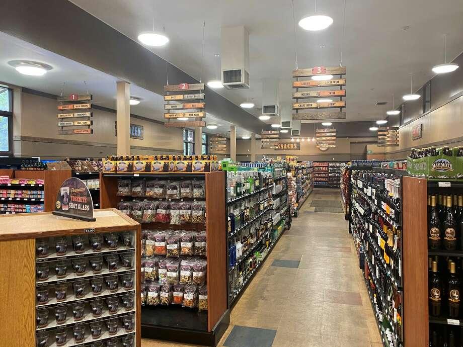 The Village Store at Yosemite National Park was virtually empty on Thursday, Sept. 10. Photo: Ashley Harrell