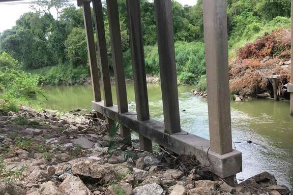 Five HOA's are asking the Texas Department of Transportation to cleanup debris under the I-45 bridge at Cypress Creek. TxDOT says the concrete chunks are there intentionally to shore up the foundation of the bridge.
