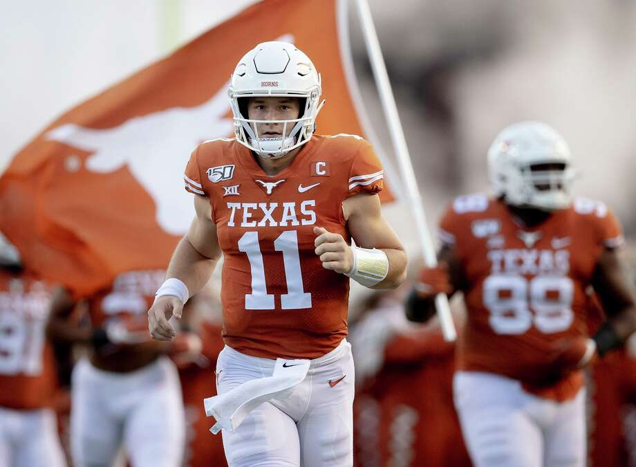 Local Longhorns fans are optimistic about the team's chances this season with Sam Ehlinger leading the way at quarterback. Photo: Nick Wagner /Associated Press File / Austin American-Statesman