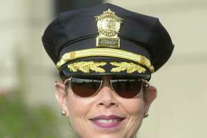 Acting Police Chief Rebeca Garcia is being sued to block transferring captains.