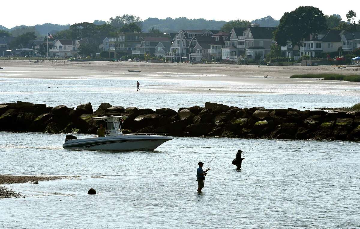 On Saturday, Sept. 12, 2020, the state Department of Public Health warned residents about the potential dangers of exposure to salt or brackish water in Long Island Sound, due to an unusually high number of infections caused by bacteria in the water. The patients are from Fairfield (one), Middlesex (one), and New Haven (three) counties and are between 49 and 85 years of age (median 73); four are male, one is female.