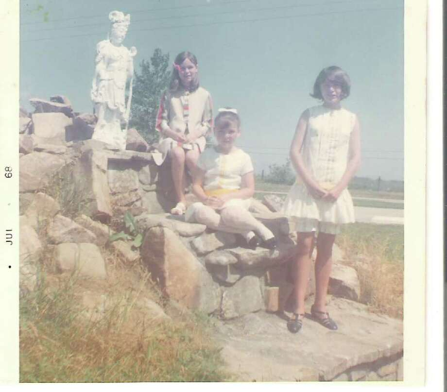 Peggy Kennedy is seen on a trip with sisters Mary Lou and Carol in the late 1960s.  (Courtesy of Peggy Kennedy)