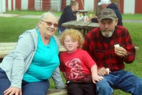 While the Mecosta County Agricultural Free Fair was canceled this year due to COVID-19, locals were still able to enjoy their favorite fair foods during a concessions event at the fairgrounds. A similar event also took place at the fairgrounds in July.