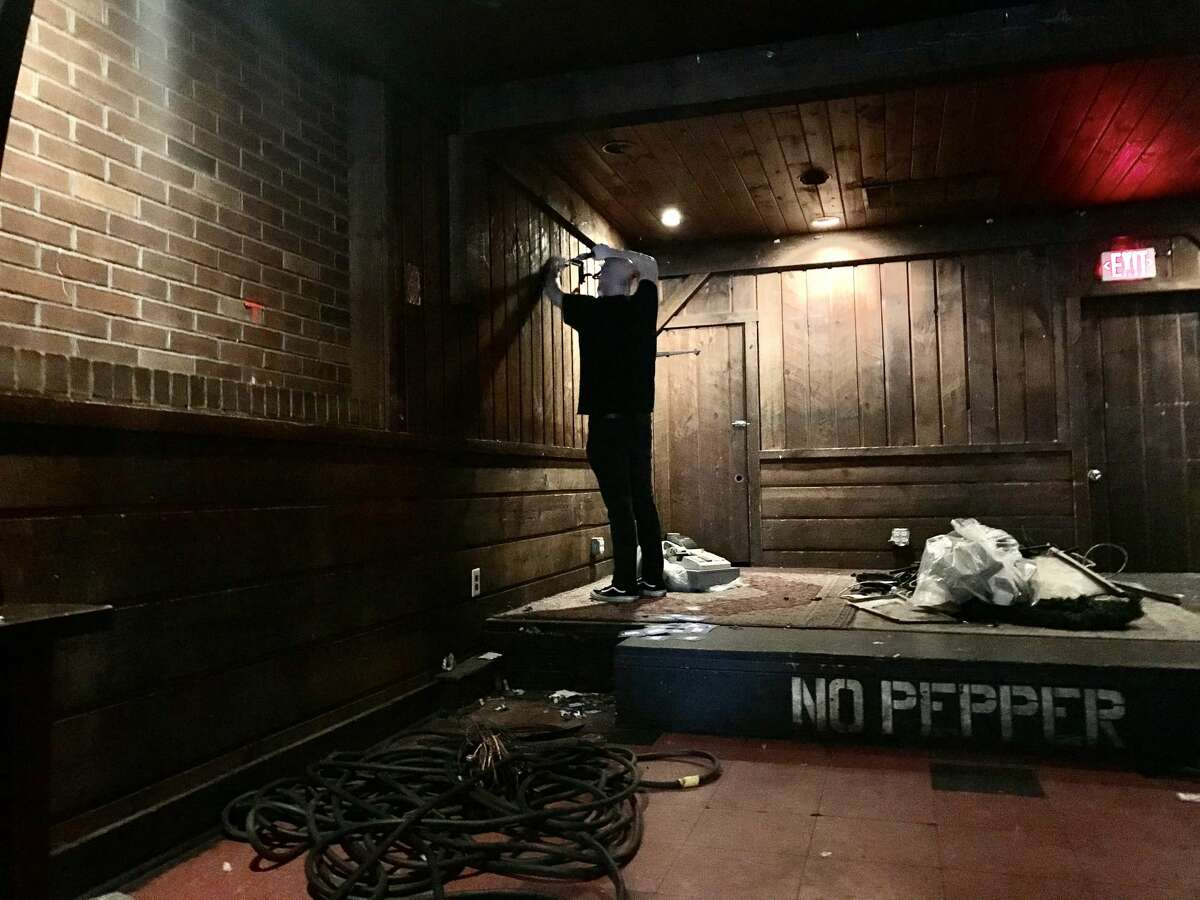 This was the scene Saturday Sept. 12, 2020, at the The Low Beat on Central Avenue in Albany, as fans, patrons, musicians and others stopped by to pick up artifacts from the closed venue.