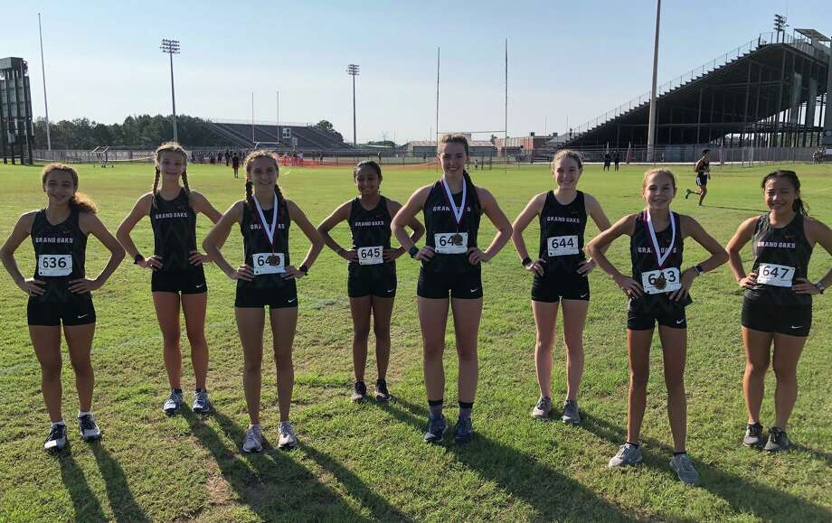 Grand Oaks placed five runners in the Top 20 on its way to winning the Dog Pound Invitational at Magnolia High School on Saturday, September 12, 2020. Photo: Submitted