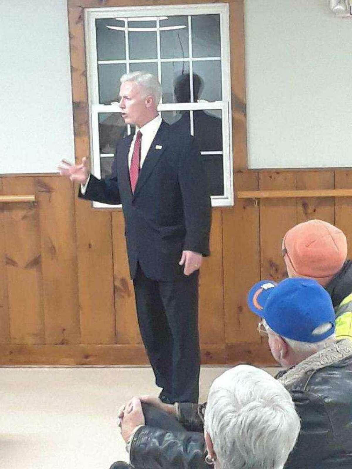 Republican David X. Sullivan, of New Fairfield, challenging U.S. Rep. Jahana Hayes.