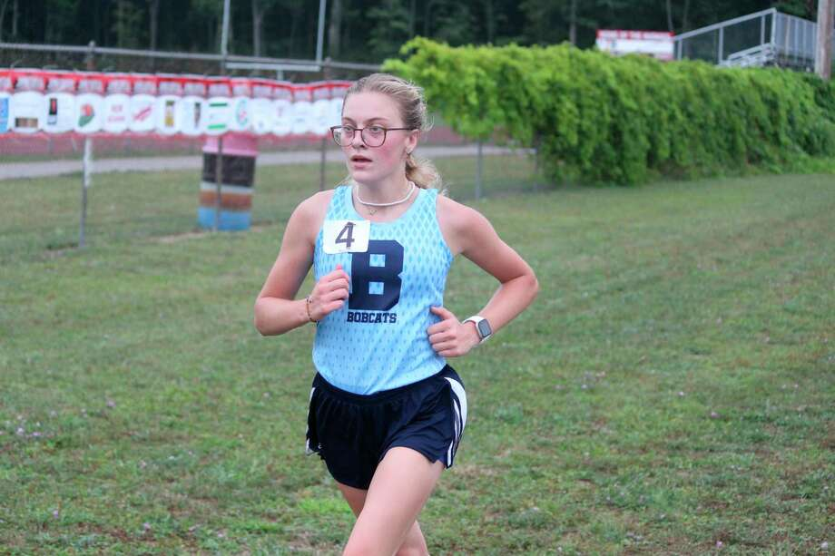 Alexis Tracy races at the Moss Invitational earlier this year. (File photo)
