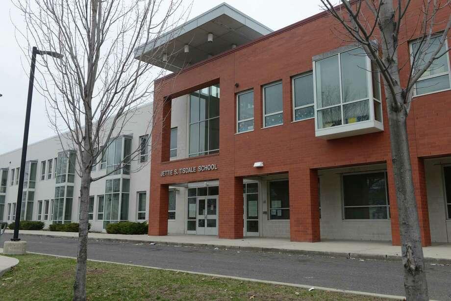 Jettie S. Tisdale School in Bridgeport, Conn. Photo: Autumn Driscoll / Autumn Driscoll / Connecticut Post
