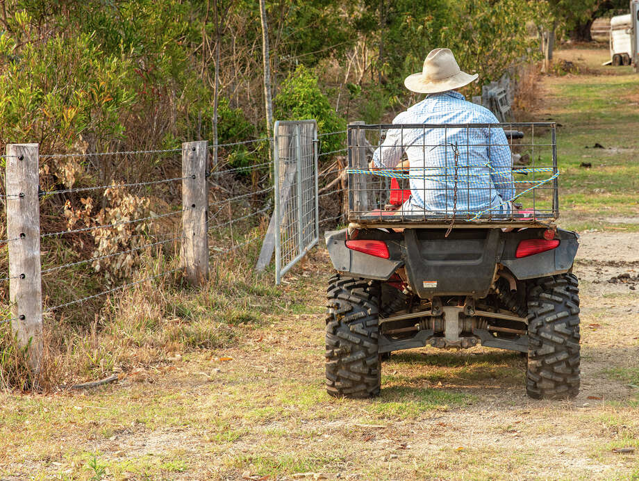 Bluffs plans to review a change to its ordinance to allow ATVs and utility task vehicles to be used in the village, but to enforce things like speeding and unlicensed riders. Photo: Jules Ingall | File