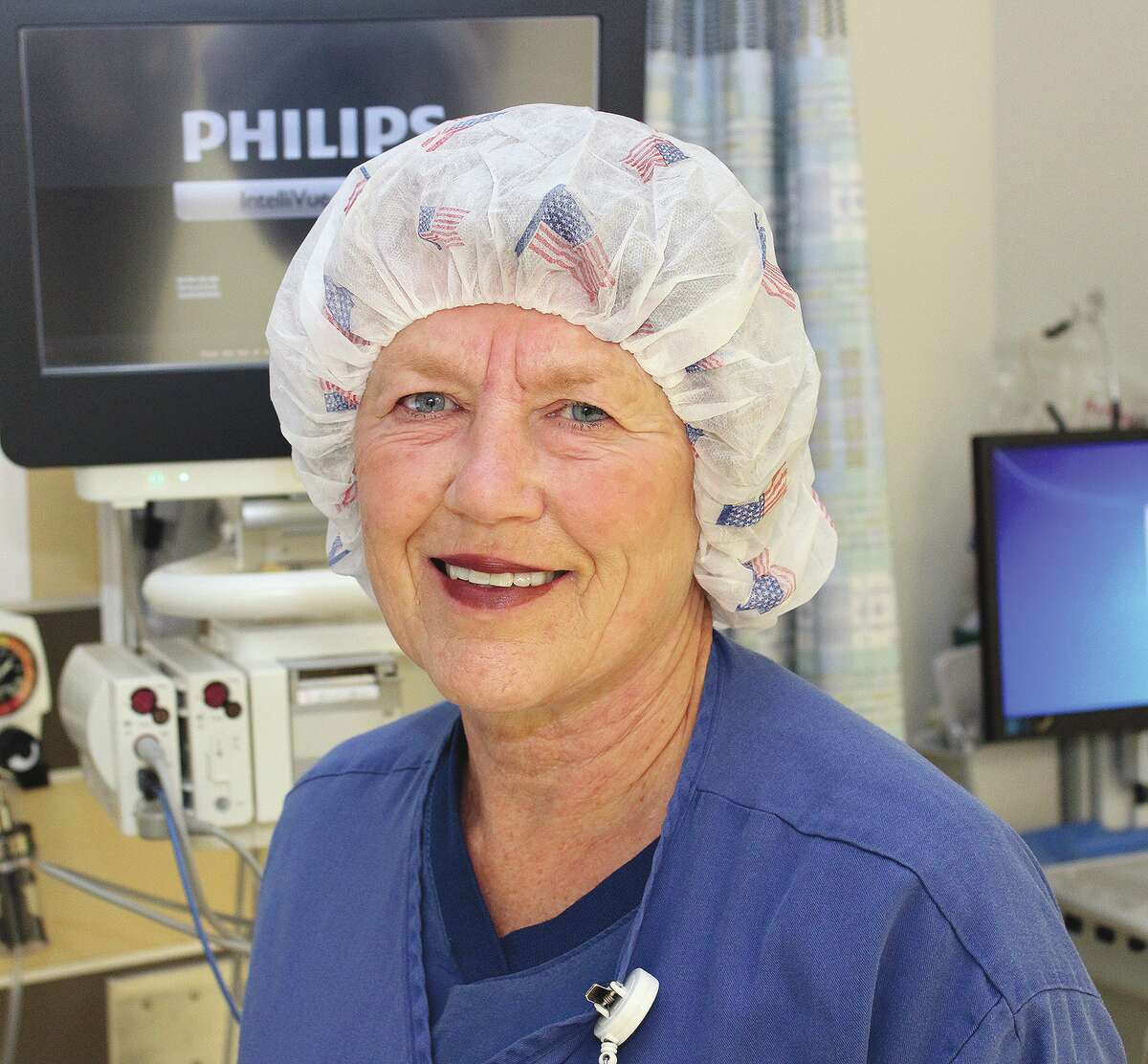 Patty Kircher of rural Chapin retired Aug. 27 following 51 years of service at Passavant Area Hospital as a registered nurse.