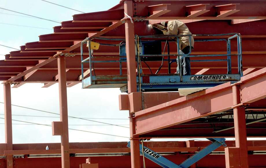 Work continues on construction of Lamar University's Welcome Center on Jim Gilligan Way. The project is expected to be completed in January.  Photo taken Friday, September 4, 2020 Kim Brent/The Enterprise Photo: Kim Brent / The Enterprise / BEN
