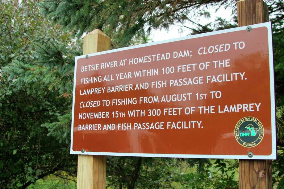The Natural Resource Commission made some changes to where you can fish at the site of the Homestead Dam on Sept. 10. (Photo/Colin Merry)