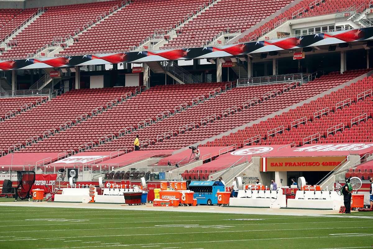 49ers cannot play at Levi's Stadium under Santa Clara County's new coronavirus restrictions.