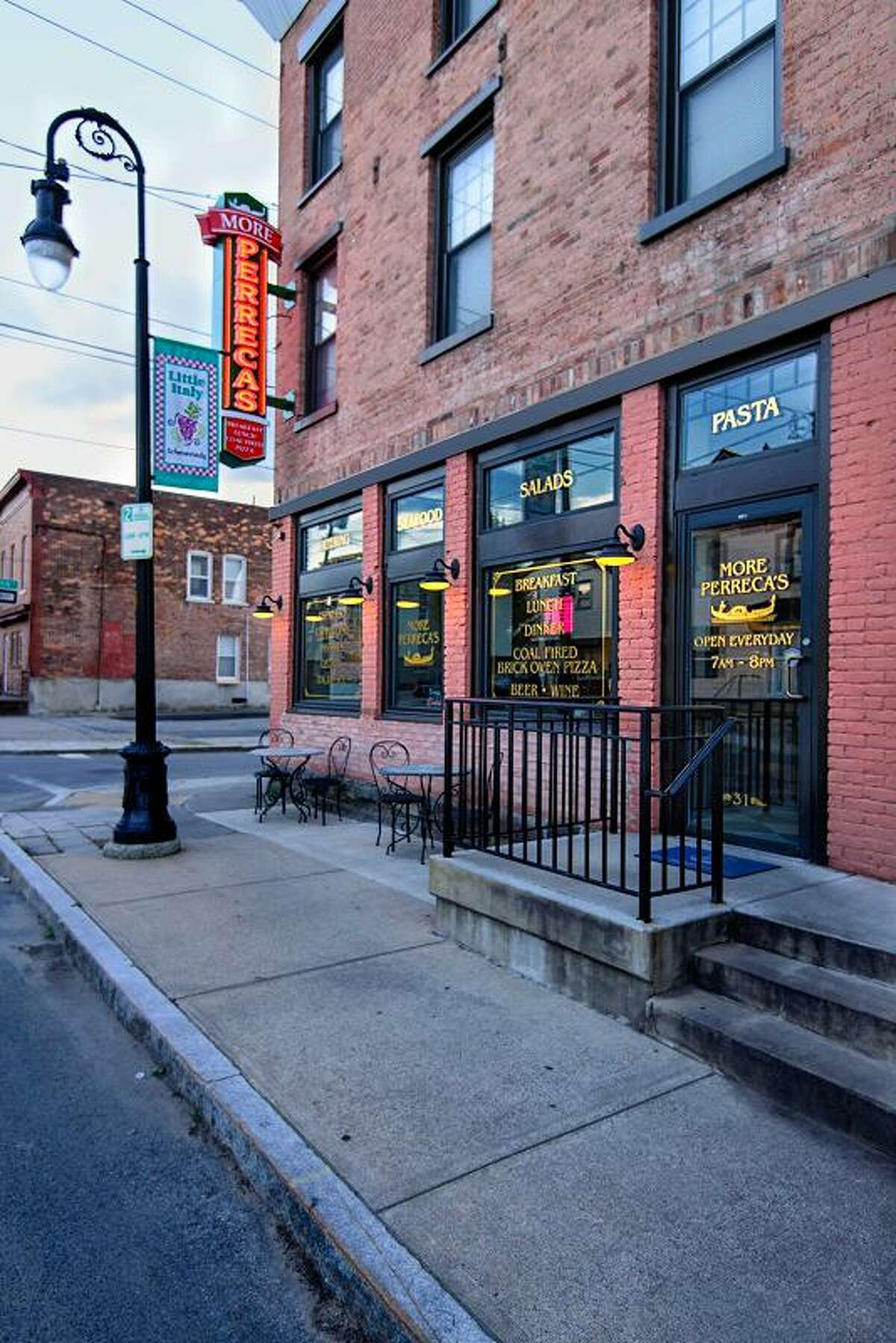 More Perreca's in Schenectady's Little Italy plans to reopen April 1, 2021.