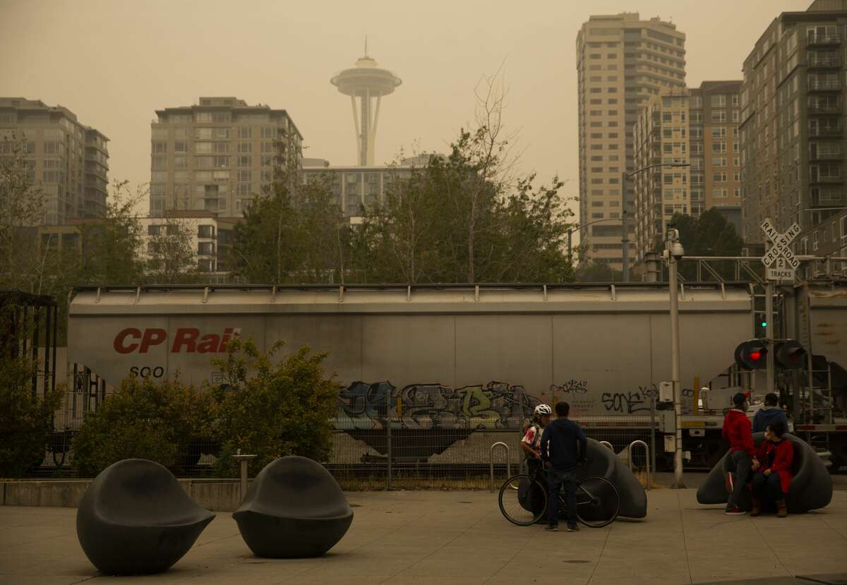 Seattle Center's restrooms will remain closed through Wednesday. According to the city, they