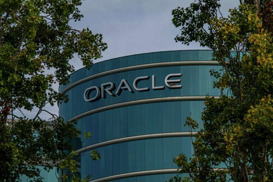 Oracle headquarters in Redwood City, Calif., on Aug. 18, 2020. Photo: Bloomberg Photo By David Paul Morris / Bloomberg