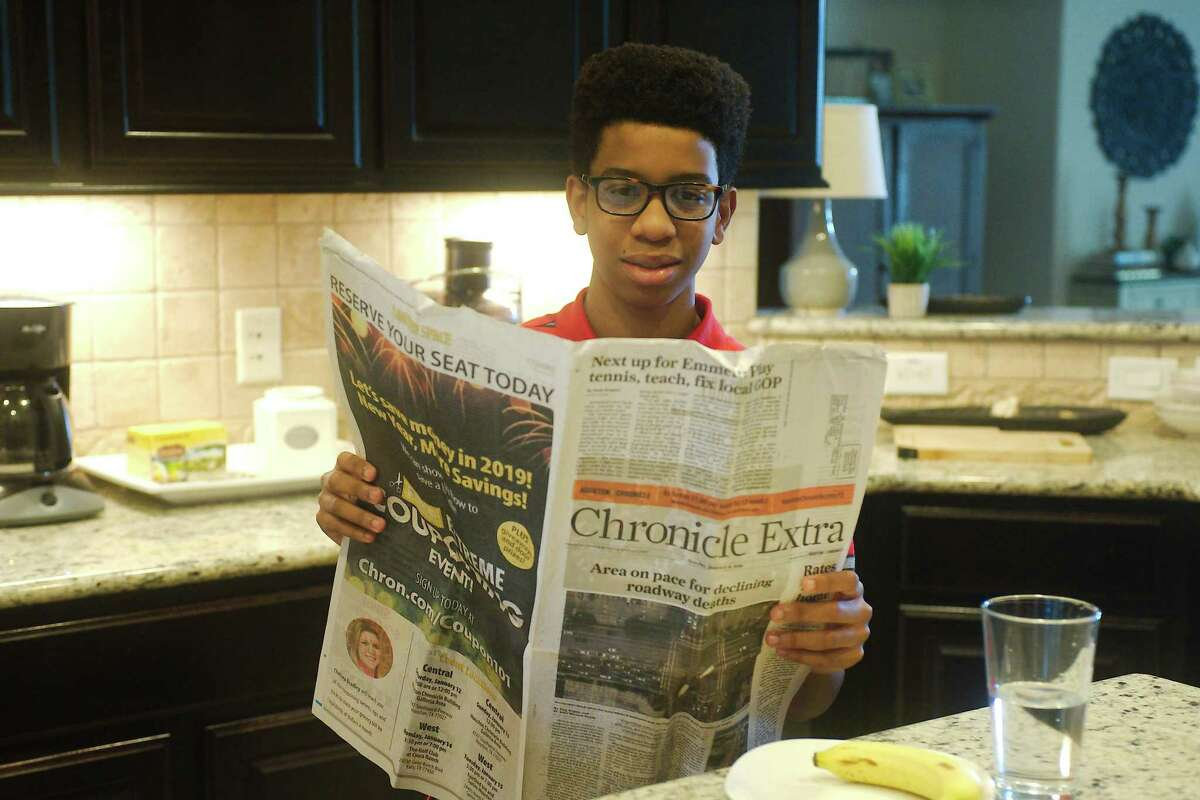 Rodeo Palms Junior High student Marcus Lewis Jr. wrote an essay on the importance of a free press that has been honored in a national contest.