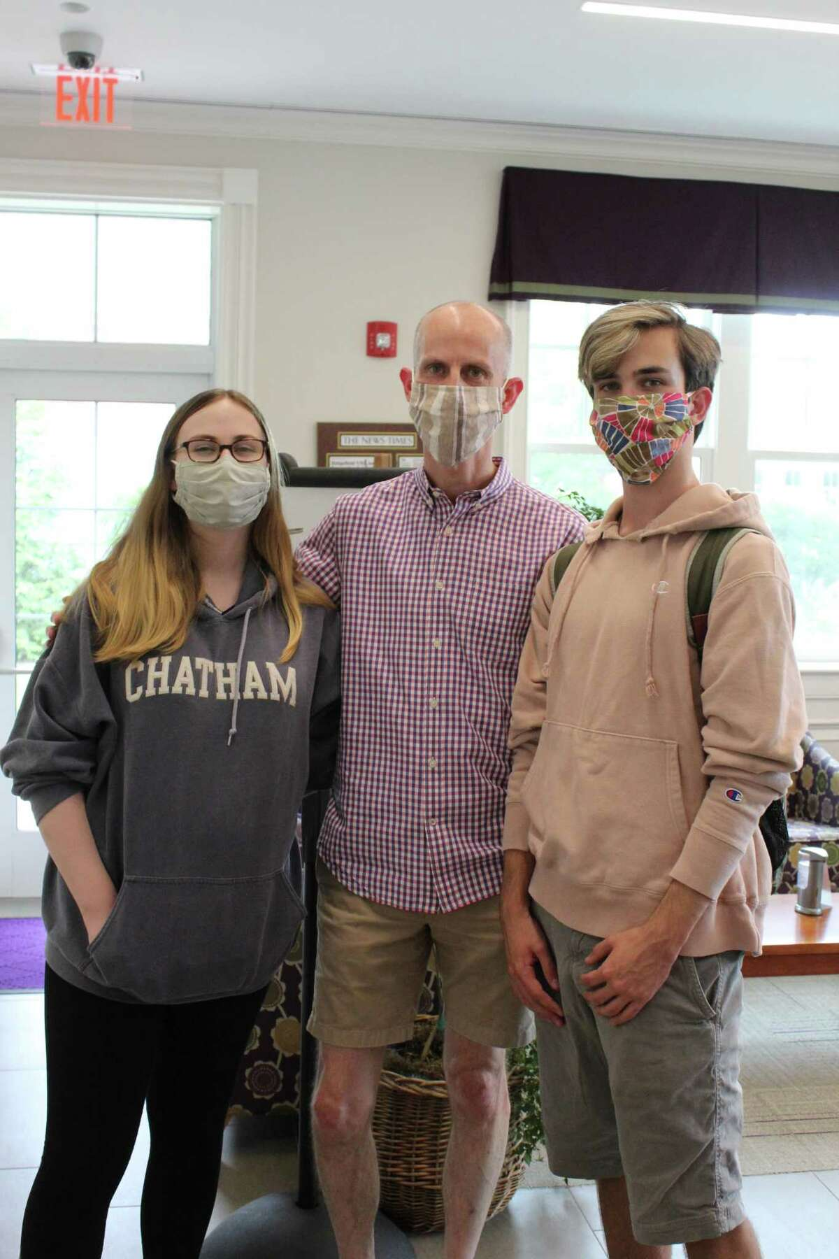 RVNAhealth flu season opened to a full line-up of appointments Sept. 9, including the Fisher-Sleigh Family who came in force with 5 family members, including Kiera, Brian and Conor. RVNAhealth offers vaccines for all those six months and older.