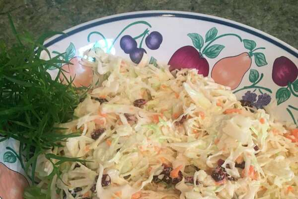 Coleslaw made with homegrown cabbage. Cabbage is so versatile serving it hot/cooked or cold/raw. (Photo provided/Donna Frawley)