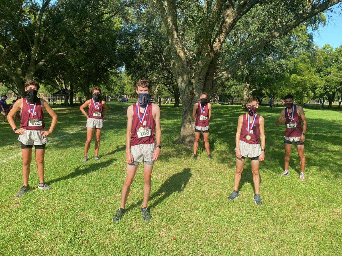The George Ranch boys cross-country team opened the season with a team championship, winning their section at the Dawson Early Bird meet in Pearland.