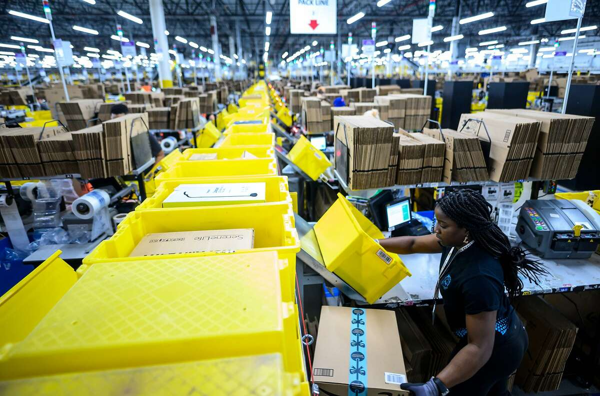 Amazon will hire another 100,000 people to keep up with a surge of online orders. The company said Monday that the new hires will help pack, ship or sort orders, working in part-time and full-time roles. Amazon said the jobs are not related to its typical holiday hiring. The Seattle company reported record profit and revenue between April and June as more people turned to it during the pandemic to buy groceries and supplies. The company already had to hire 175,000 people earlier this year to keep up with the rush of orders, and last week said it had 33,000 corporate and tech jobs it needed to fill. To read the full story from the Associated Press, click here.
