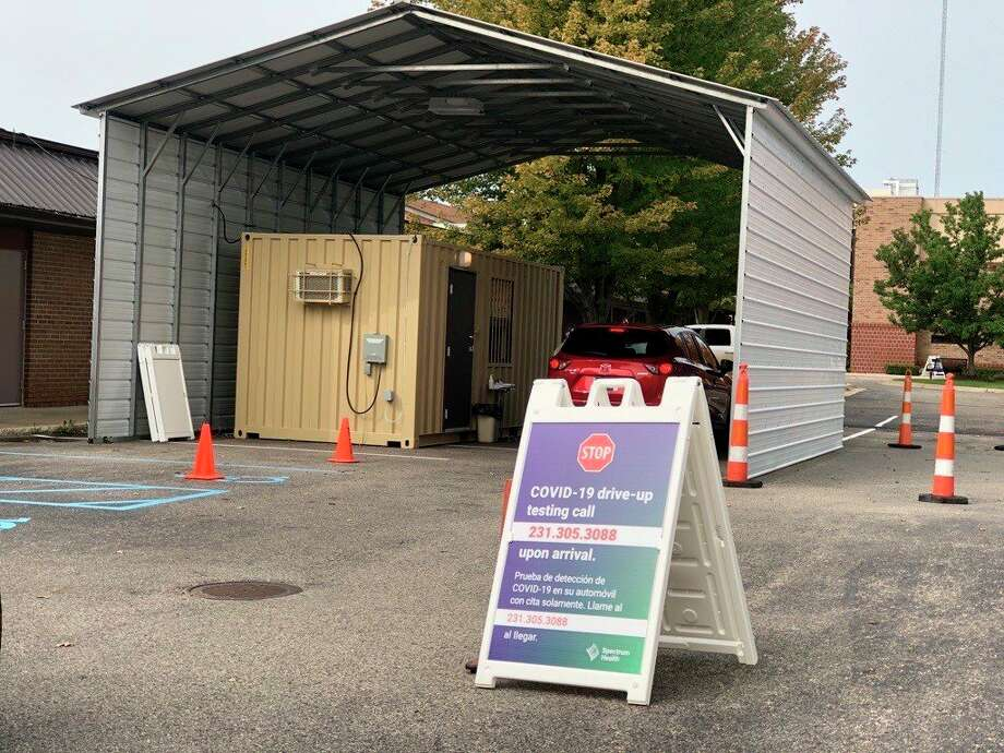 Spectrum Health Big Rapids Hospital has relocated its testing site to allow for more tests and additional testing hours. Patients may now be tested from 9 a.m. to noon and 1 p.m. to 5 p.m. at the OB Practice Parking lot. (Courtesy photo)