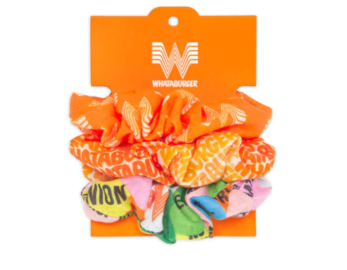 According to the fast-food chain's website, you can buy a Whataburger scrunchie 3-pack for $10.99 at its Whatastore.