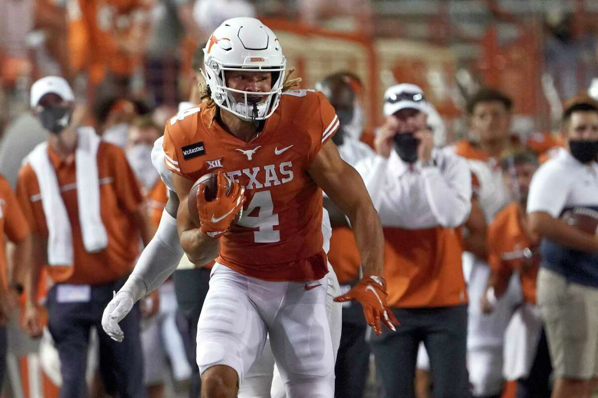 Texas will be looking for a big year out of Jordan Whittington after his first two seasons were curtailed by injuries.