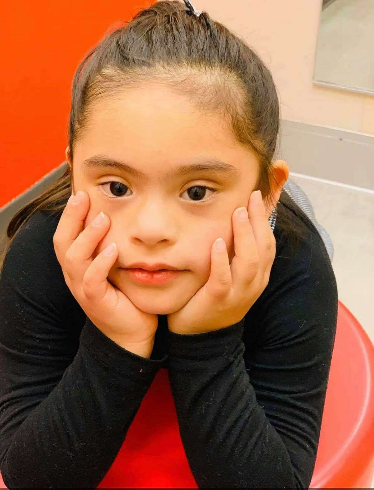 Laredo's Isabella Alvarez was chosen as part of a national video spot broadcast in Times Square for the National Down Syndrome Society.