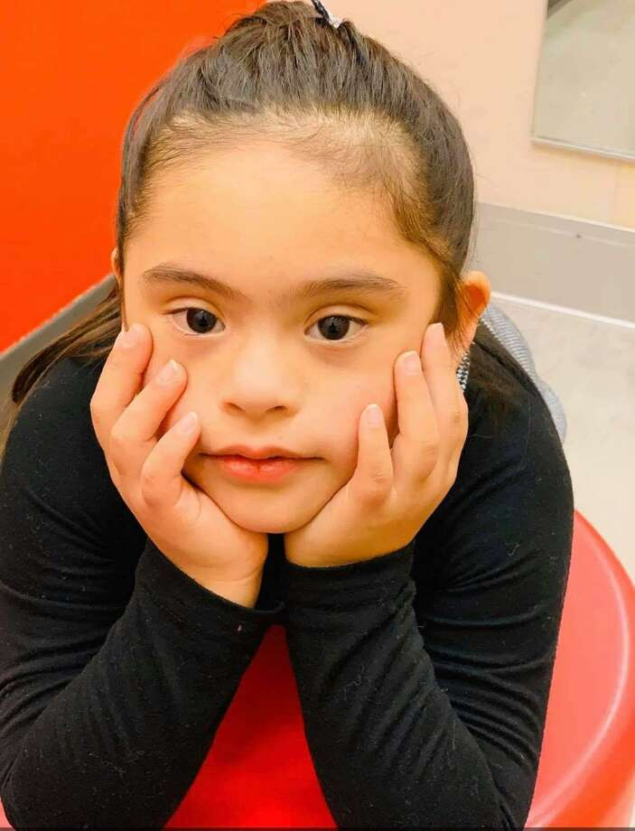 Laredo's Isabella Alvarez was chosen as part of a national video spot broadcast in Times Square for the National Down Syndrome Society. Photo: Courtesy Photo