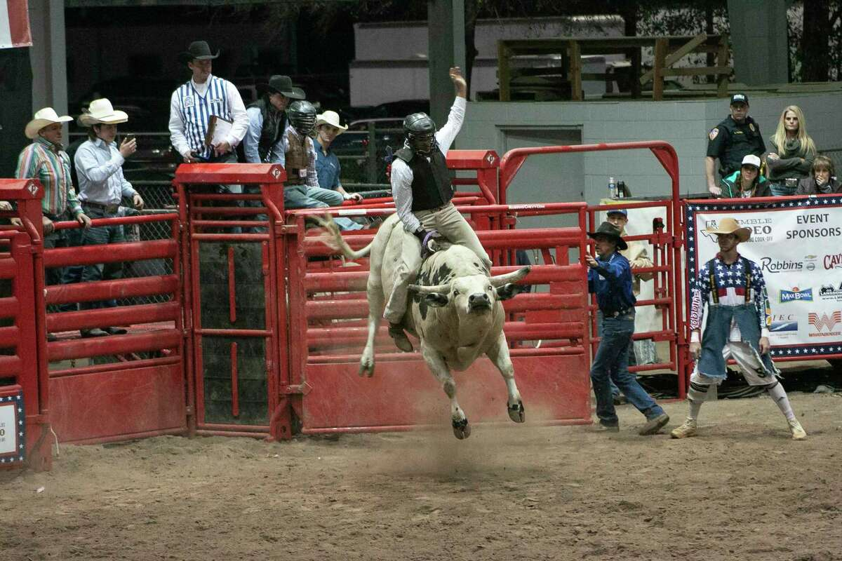 The Humble Rodeo, held Friday, Feb 7 and Saturday, Feb. 8 at the Humble Civic Center, features all seven rodeo events and live music performances each night.All proceeds from the Humble Rodeo, which is co-sanctioned by the United Professional Rodeo Association and Cowboy's Professional Rodeo Association, will go towards the Humble ISD Education Foundation.