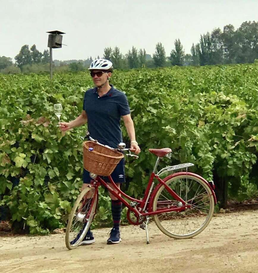 Favorite Bike Lodi itineraries include a 24.4-mile loop with optional stops at Michael David Winery and Café and d'Art Wines. Photo: Bike Lodi / ONLINE_YES