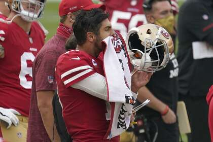 49ers Shanahan Spreads Blame On Garoppolo S Two Late Game Misfires Sfchronicle Com