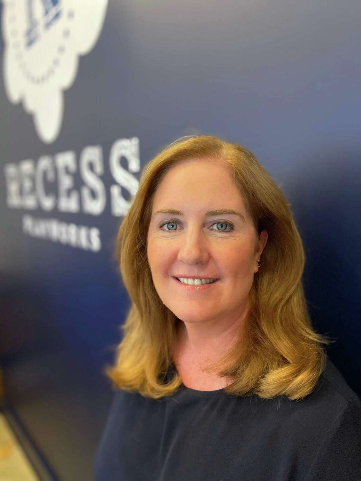 Kelsey Hubbard Rollinson, co-owner of Recess PlayWorks in Ridgefield, Conn. (Photo courtesy Recess PlayWorks)