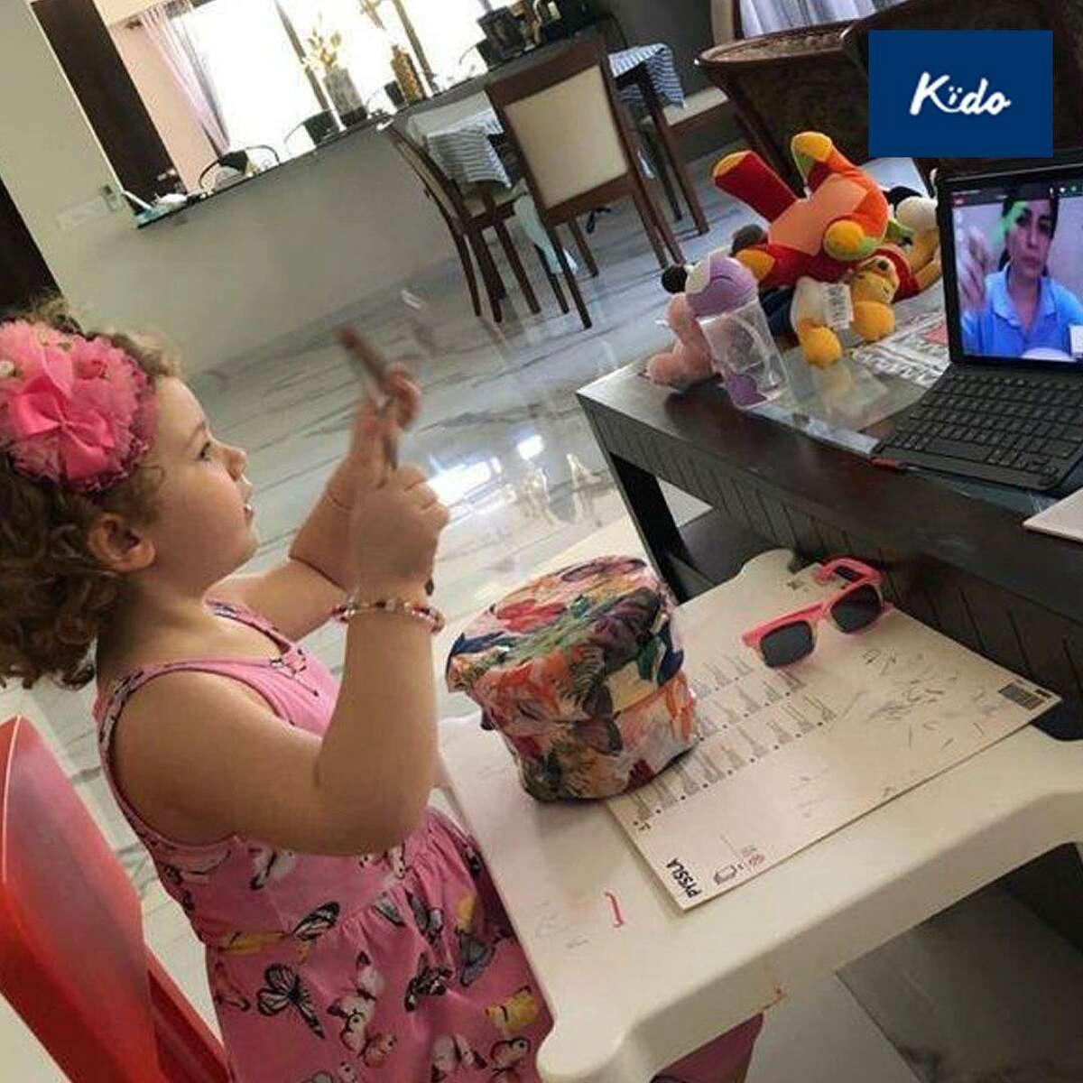 Kïdo Home's virtual learning hopes to achieve a true virtual global classroom for preschoolers.
