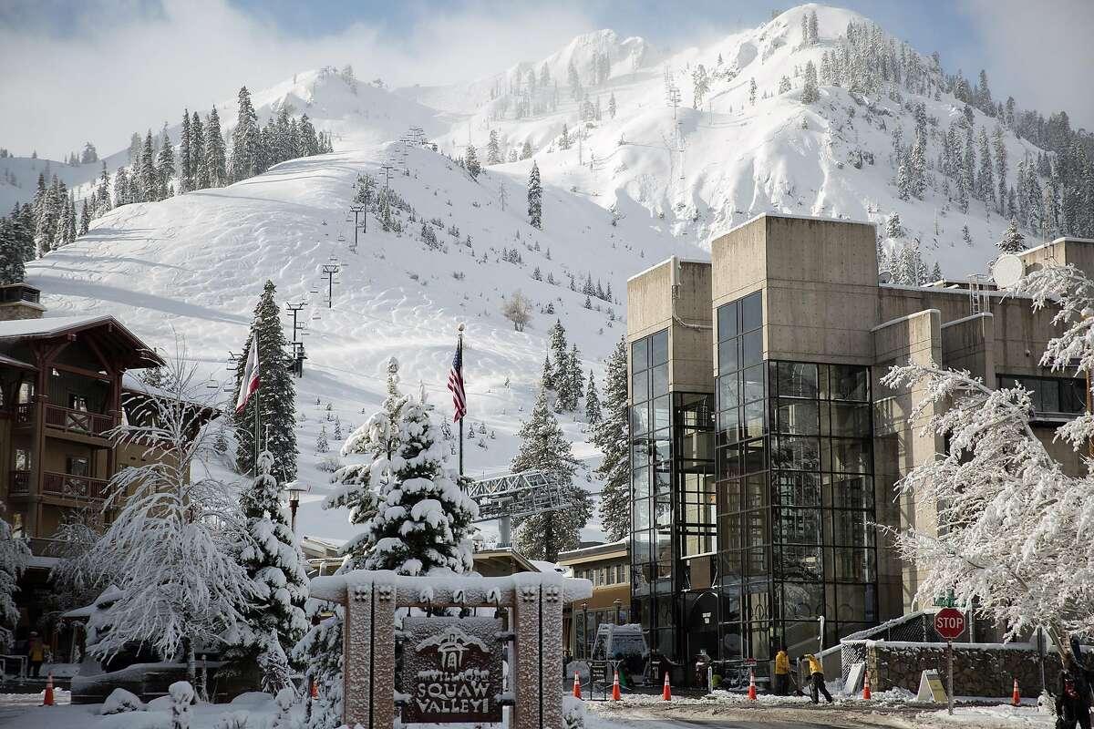 Squaw Valley Alpine Meadows Ski Resort is shown during the 2017 ski season.