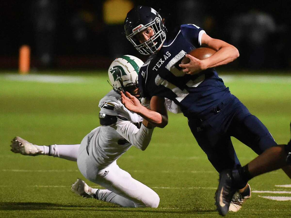 Linebacker Sean Kane led The Woodlands Christian Academy with 69 tackles and 19 tackles for loss last season as the Warriors advanced to the state semifinal.