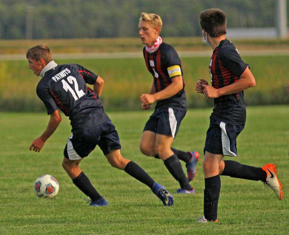 The Unionville-Sebewaing Area boys soccer team battled the visiting Capac Chiefs to a 0-0 tie on Monday afternoon. (Mark Birdsall/Huron Daily Tribune) Photo: Mark Birdsall/Huron Daily Tribune