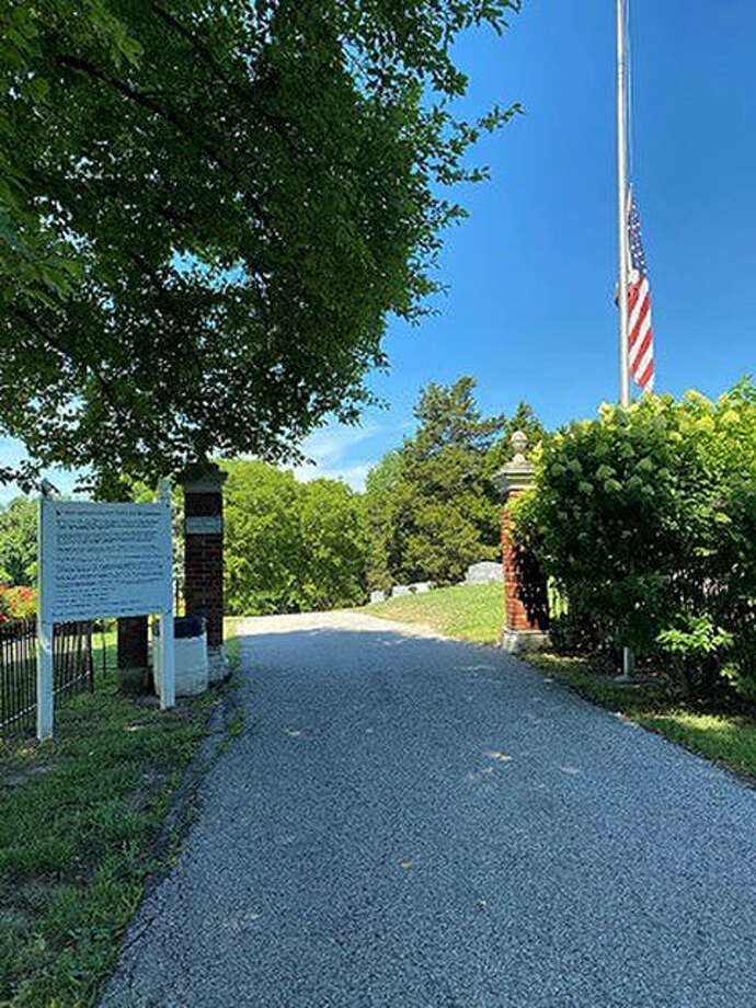 Glen Carbon Cemetery entrance Photo: Courtesy Of The Village Of Glen Carbon