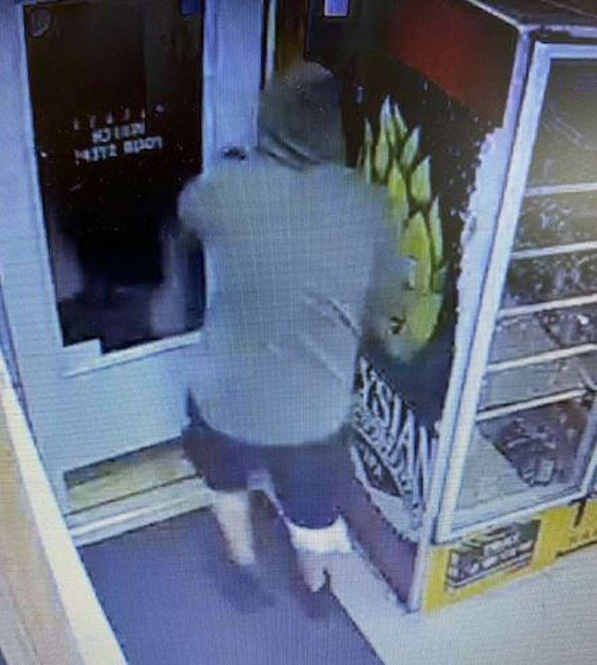 State police are asking for the public's help identifying this man believed to have carried out an armed robbery at the Chaplin Package Store on Willimantic Road in Chaplin Thursday, Sept. 10.