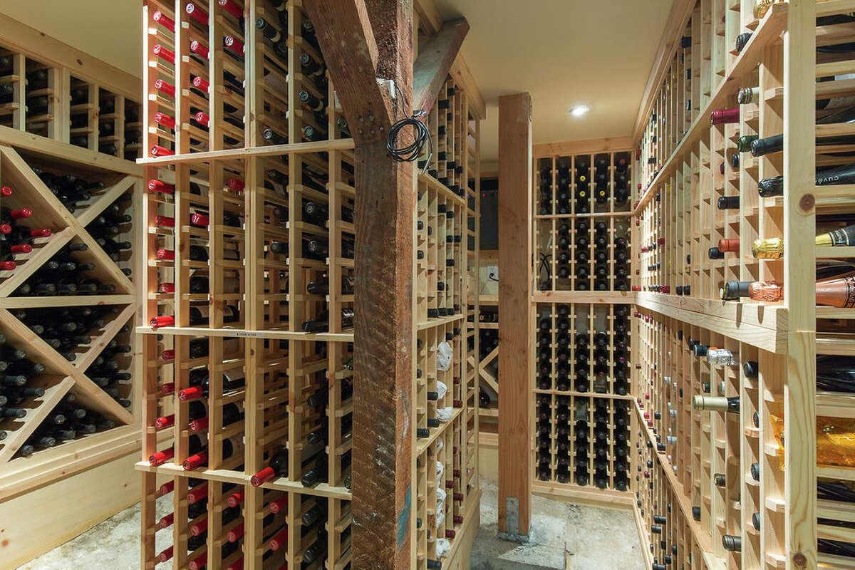 It also offers a 1,600 bottle wine cellar.