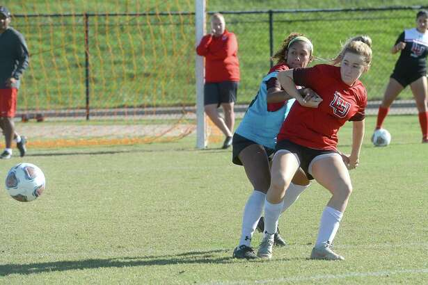 Lamar University's women's soccer team is back on top in the Southland Conference ranking. The Lady Cardinals are eyeing another shot at the conference championship and NCAA tournament bid. Photo taken Tuesday, October 22, 2019 Kim Brent/The Enterprise