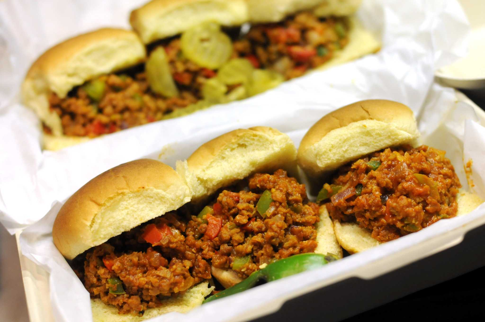 You'll crave the vegan sloppy Joe from Tidy Ben's