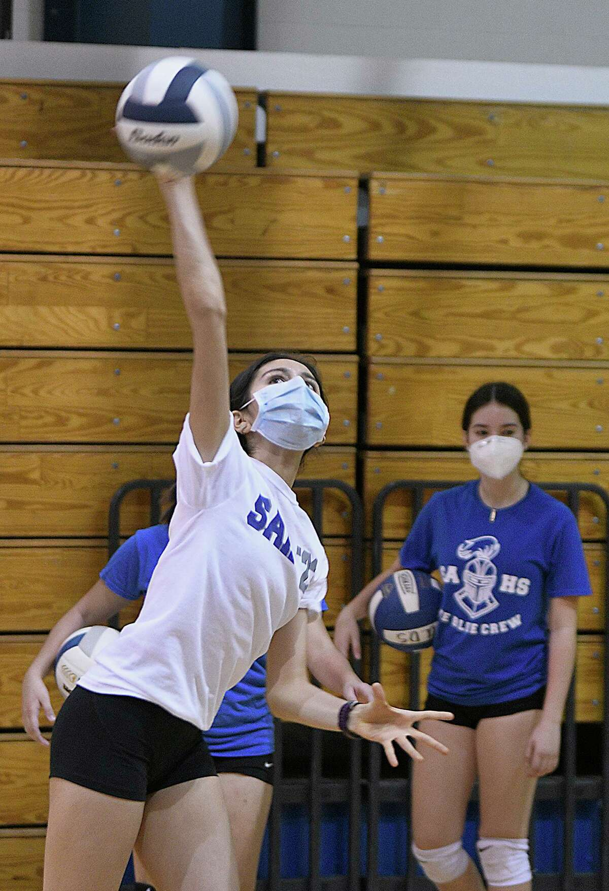 The St. Augustine volleyball team is set to host Carrizo Springs Tuesday in its season opener.