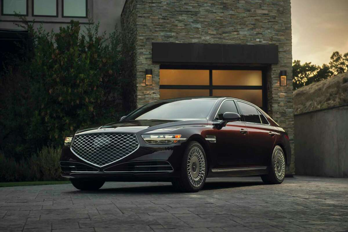 The 2020 Genesis G90 is a refined sedan loaded with bells and whistles.