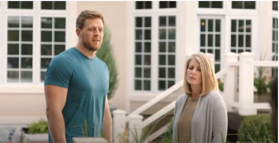 J.J. Watt and his family are back with another hilarious video promoting Subway's footlong sandwiches. Photo: Screenshot Subway YouTube