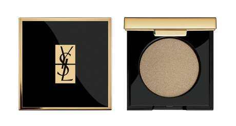 Yves Saint Laurent Satin Crush Mono Eyeshadow: New single eyeshadow palettes in satin nude tones perfect for fall's most seductive eyes. Rich, deep, creamy color in one supple stroke; $30 at select Macy's, Dillard's and Sephora stores.