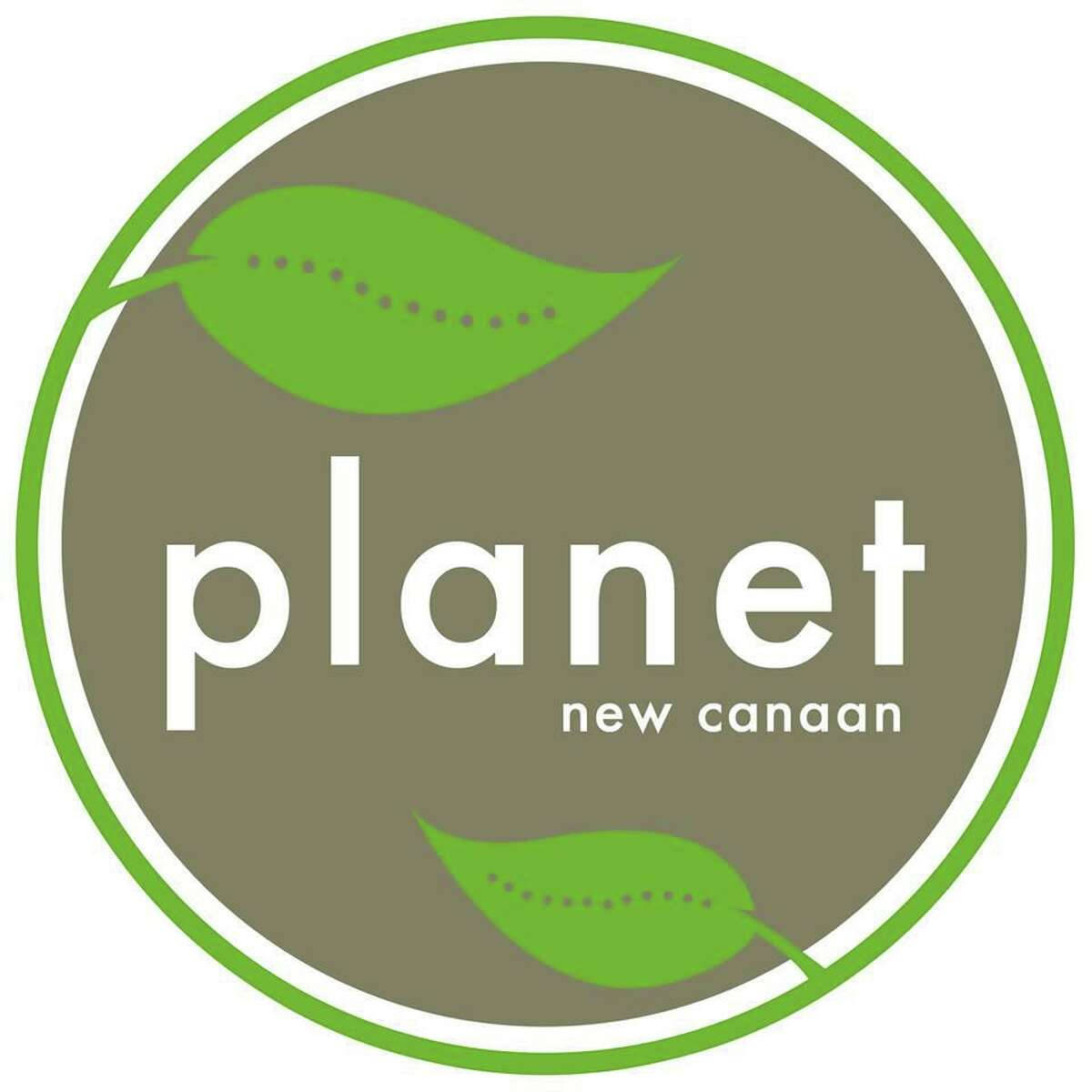 Planet New Canaan logo from their Facebook page.