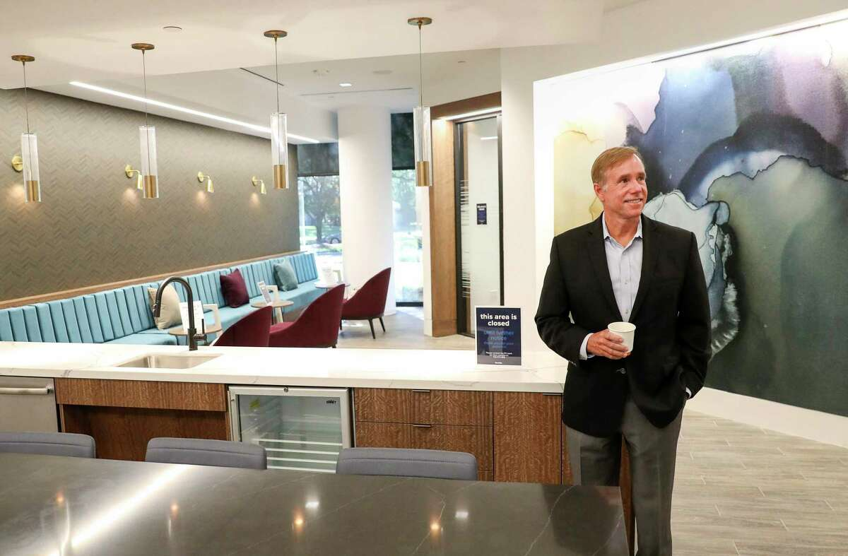 Scott Martin, executive managing director of Granite Properties, poses for a photo while giving a tour Wednesday, Aug. 19, 2020, at one of the company's properties in Houston.