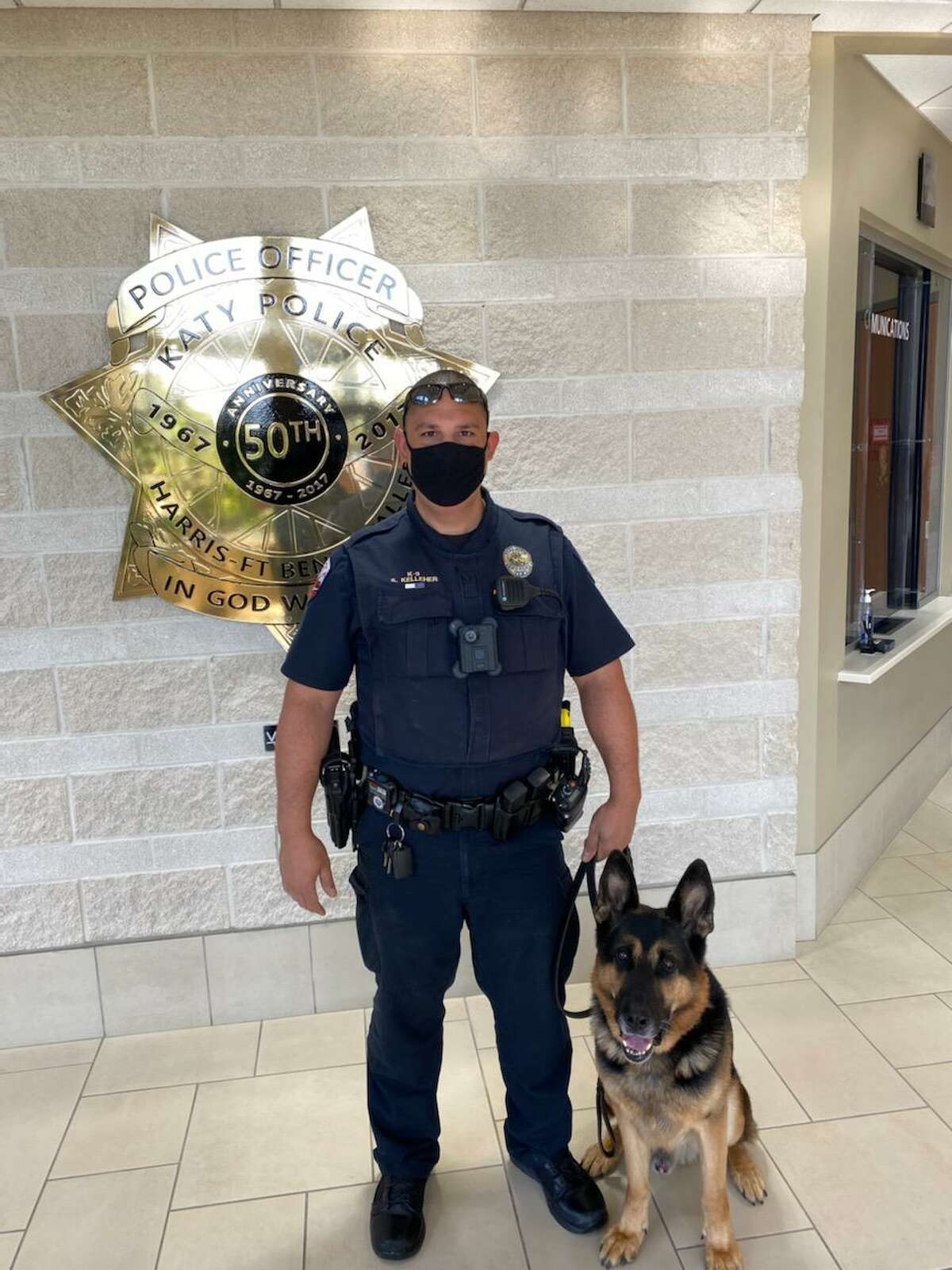 Steven Kelleher from the Katy Police Department was among the first responders honored for their life saving efforts on Sept. 14, 2020.